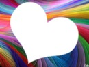 coeur de couleur ...