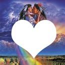 indien coeur amour