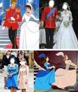 mariage de pricesse et les cousine de la princesse