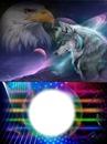 """""""fantasy wolfs en arend"""""""