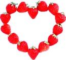 coração de morangos
