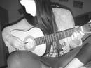 Joué de la guitare [Photo Noir & Blanc]