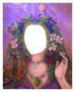 jeune fille fleurs