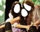 Demi , Selena adn Miley