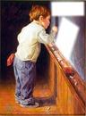 menino -quadro negro