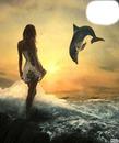 la femme est le dauphin