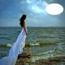 lady aat the sea