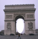 Paris -Arc de triomphe-1 photo