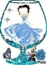 le verre bleu