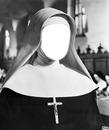 Visage d'une religieuse