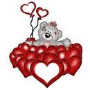 globos de corazones