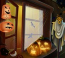 "Halloween ""am Fenster"""