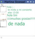 Chat falso escrito de martina stoessel