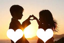 Amor ao pôr do sol
