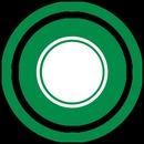 CIRCULO - Green And White Circle