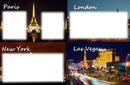 Paris Londre NewYork Las Vegas