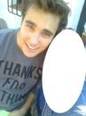 Jorge avec une fan