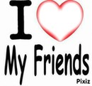 i love friends