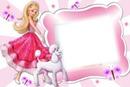 Moldura Barbie