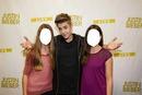 Justin y fans