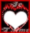 coeur enflamee