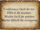 FRASES - CONFIANÇA