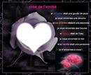 un coeur dans une rose