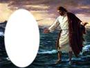 JESUS camina en las aguas