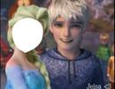 Jack Frost y Elsa