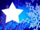 рамка Коледни Снежинки