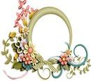 Blumengruß Rahmen
