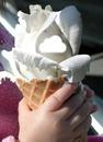 glace fleur