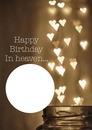 verjaardag in hemel