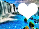 cascade bleu