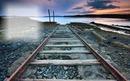 Railles de train + photo