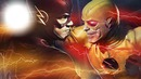 the flash et le negatif de flash