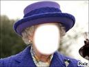 visage de la reine d'angletaire