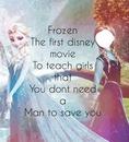 Elsa Frozen Frase