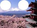 en el monte fuji japon