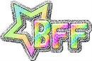 BFF coeur étoile