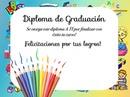 diplomas graduación