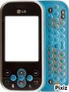LG KS360 bleu