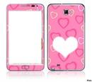Tablet de corazones rosa
