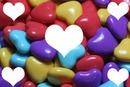 dulces de corazones