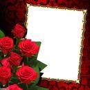 Frame fith roses
