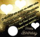FELIZ ANIVERSÁRIO = Happy Birthday