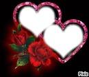fleur et coeur