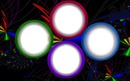 Cadres multicolores