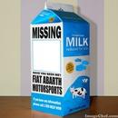 Fiat Abarth Motorsports Milk