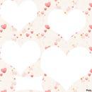 foto collage de corazones